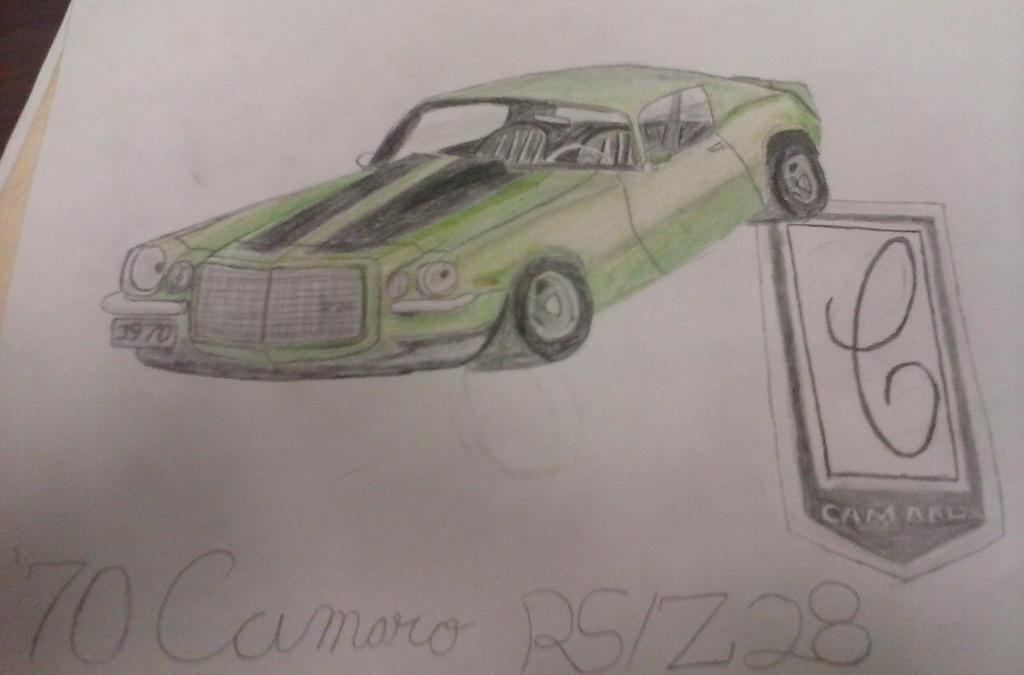 '70 Camaro RS/Z28 by AdamsCamaroZ28