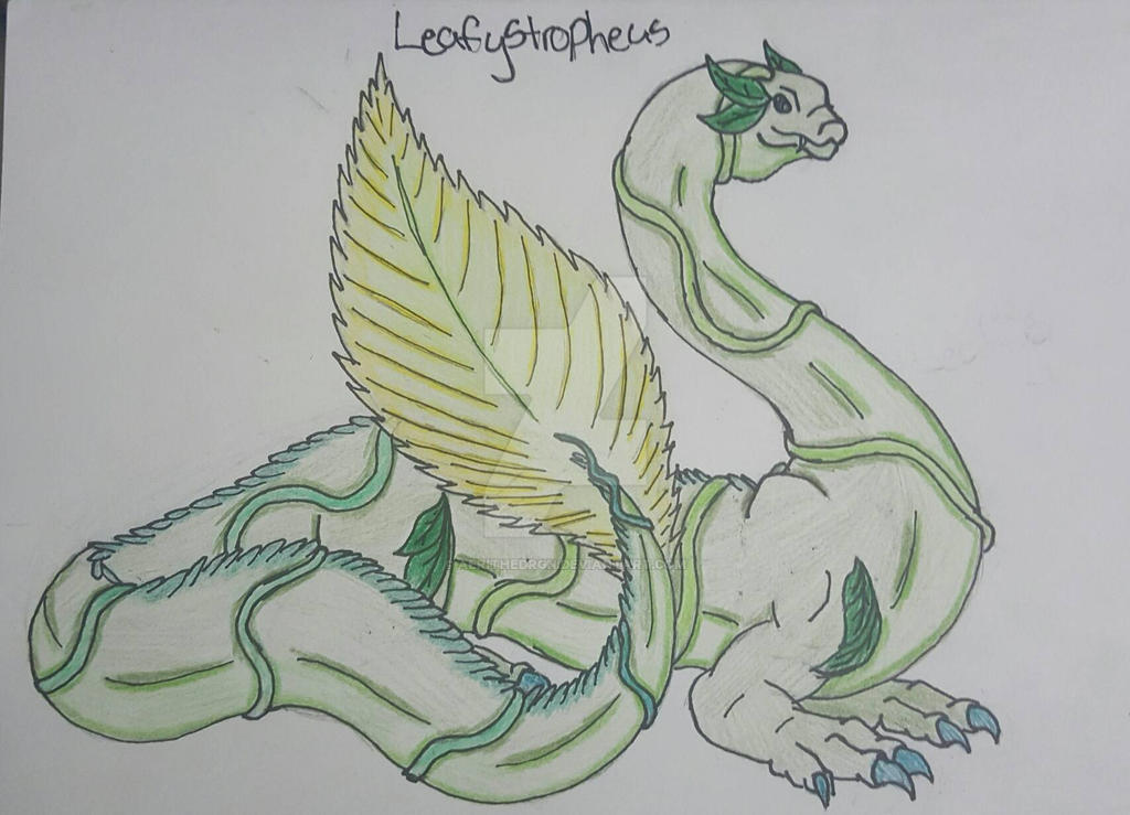 Leafystropheus! by aerithedrgn