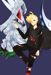 Gladion and Silvally