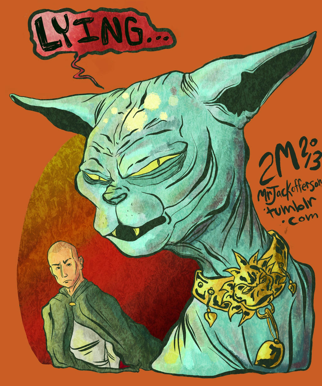 Saga comic book lying cat