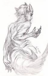 Sketchbook - Tiefling