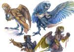 Harpy Paintings