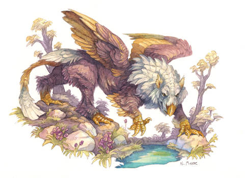 Gryphon Painting