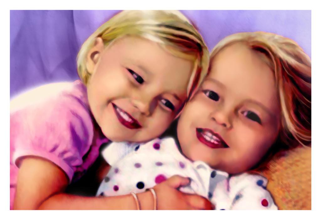 TwinGirls by bbqedmarv