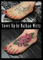 Roses Foot Cover by bbqedmarv