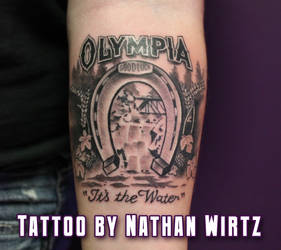 Olympia Tattoo by bbqedmarv