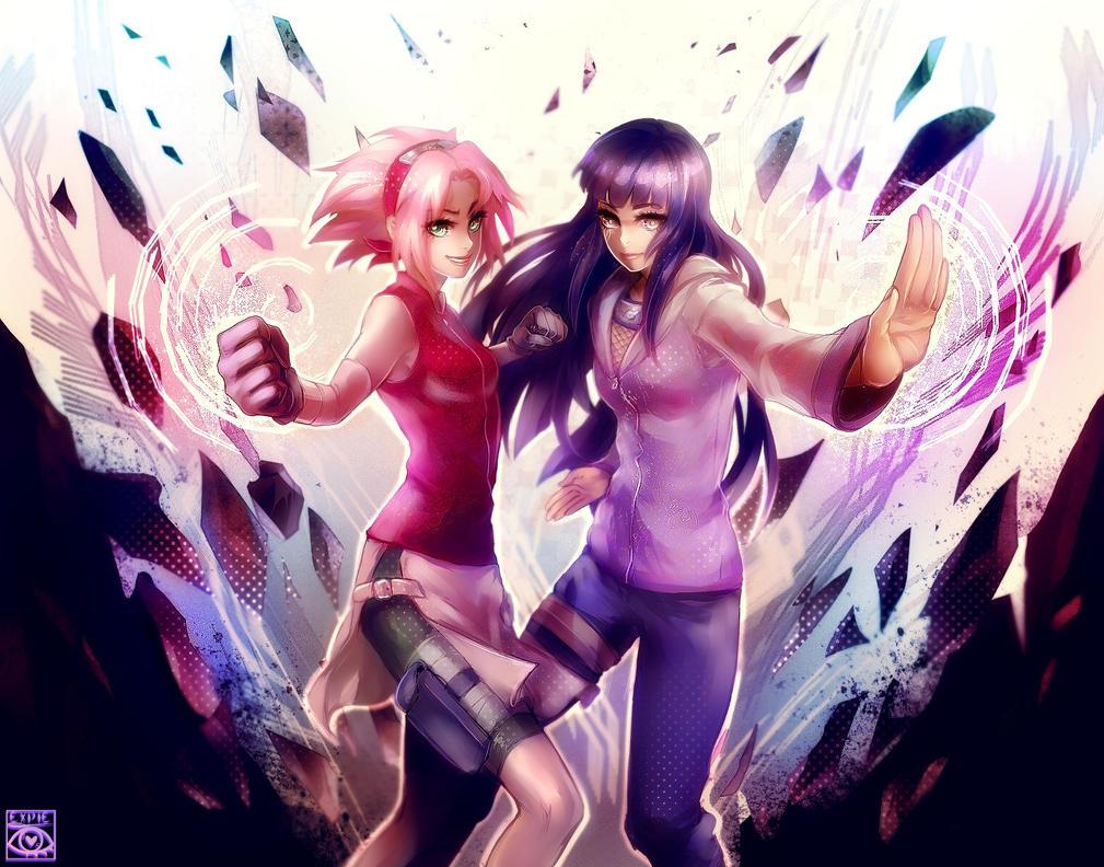 Sakura X Hinata GO! by EXPIE on DeviantArt