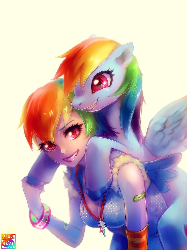 Dashing Rainbow by E-X-P-I-E