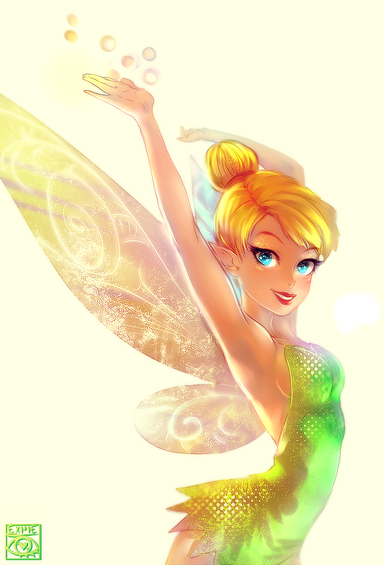 Tinker Bell by E-X-P-I-E