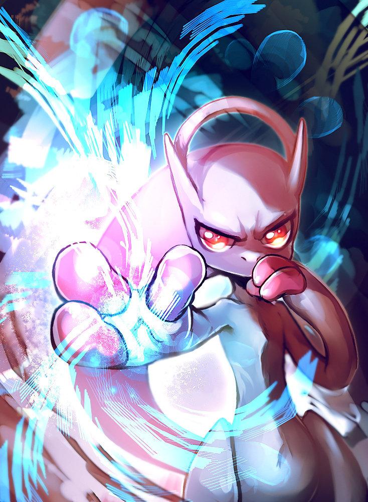 Mega Mewtwo Y by E-X-P-I-E