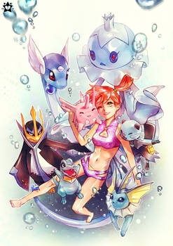 Misty and water types