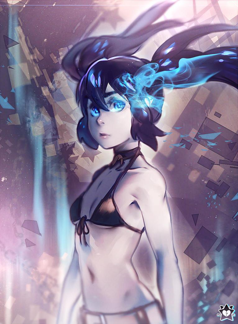 Blue Flame by E-X-P-I-E
