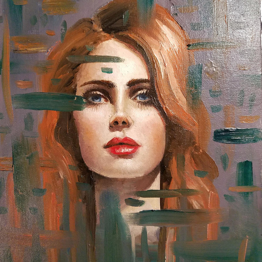 Lana Del Rey Portrait by sarahpruitt-art on DeviantArt