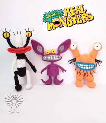 Aaahh!!! Real Monster Amigurumi