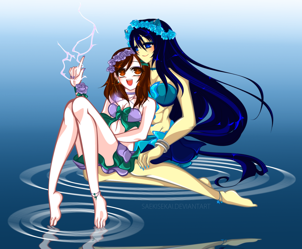 like sisters by SaekiSekai