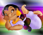 Lilo as Jasmine