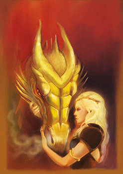 Daenerys and Viserion