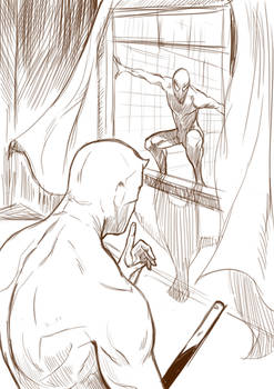 Spiderman and Daredevil ( work in progress)