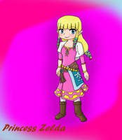 Princess Zelda - Skyward Sword by iZelda27