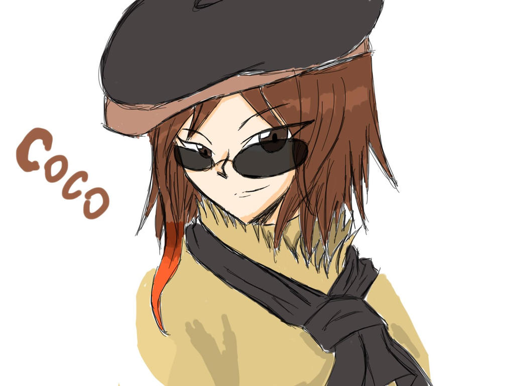 Coco sketch by YinYangSeiryu