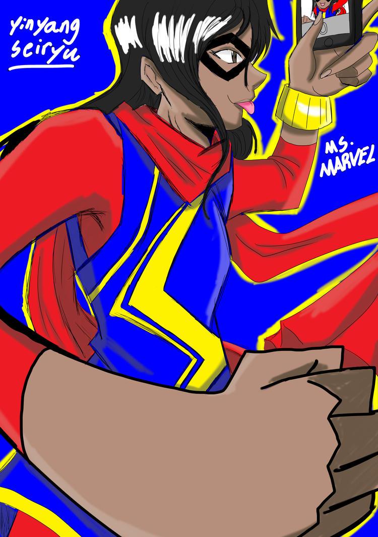 Ms. Marvel by YinYangSeiryu