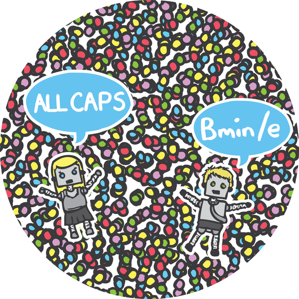 All Caps CD by baker2D