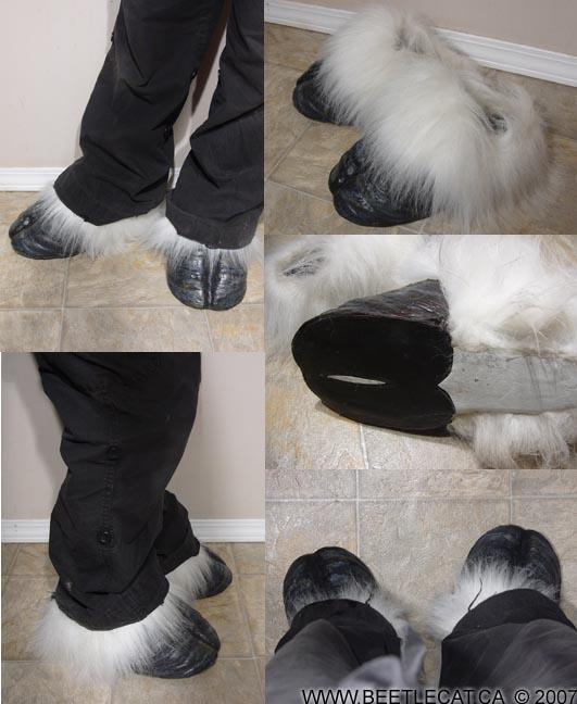 Foot Hooves by Beetlecat on DeviantArt