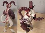 Hell Demon Goat WIP 2