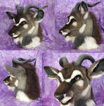 Kudu Fursuit Head