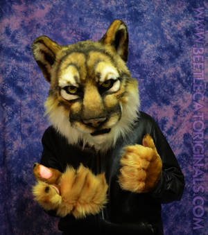 Cougar Fursuit Partial