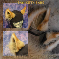 Tan Kitty Ears