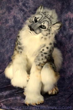 Snow leopard Fursuit Costume
