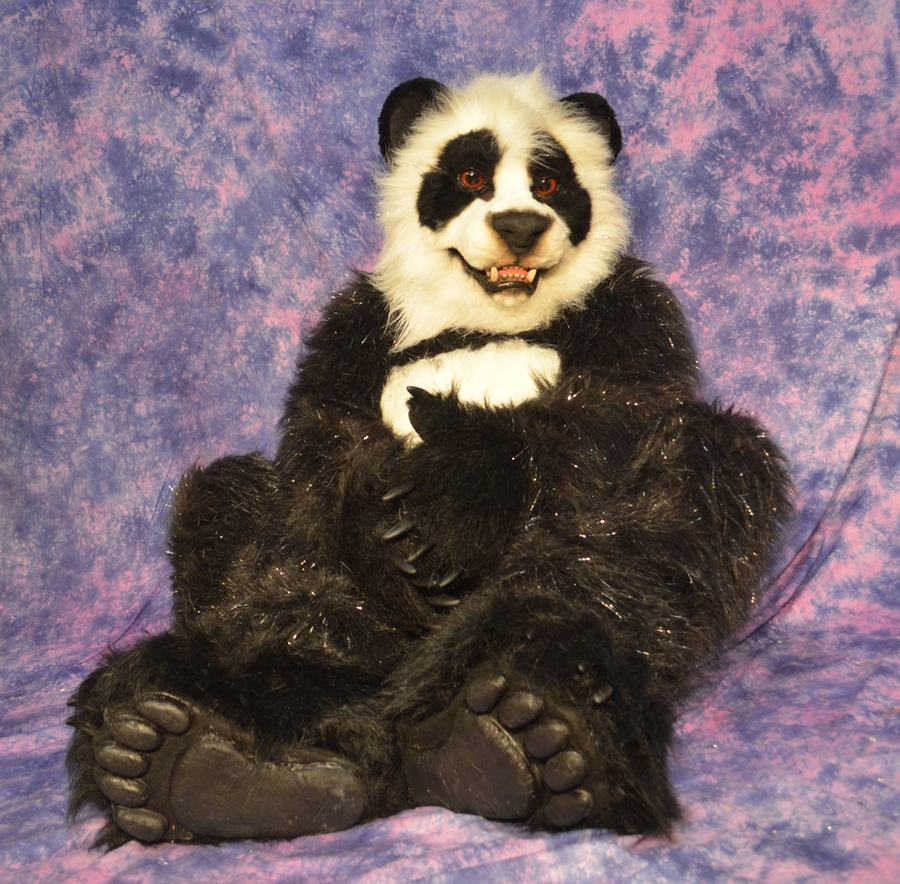 Panda Fursuit For Sale by Beetlecat