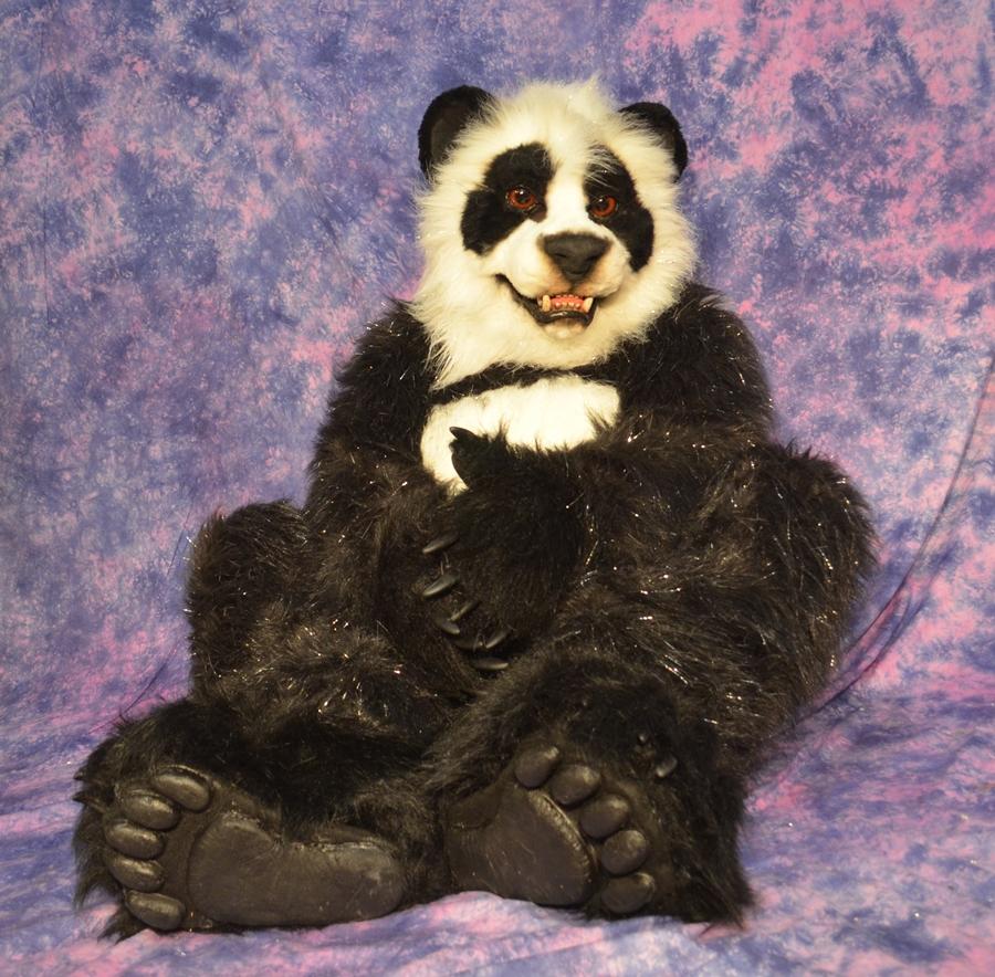 Panda Fursuit For Sale by Beetlecat