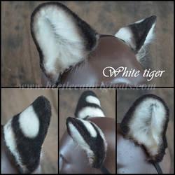 White Tiger ears