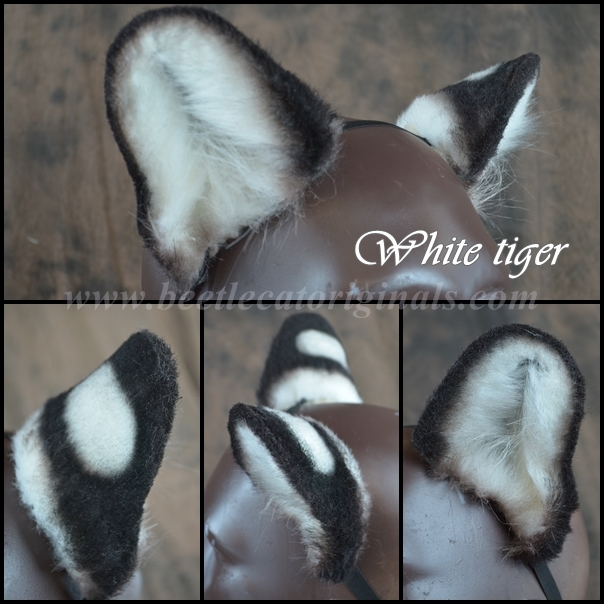 White Tiger ears by Beetlecat