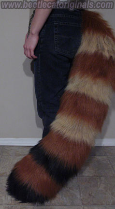 Red Panda Tail by Beetlecat