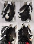 Horse Fursuit Head