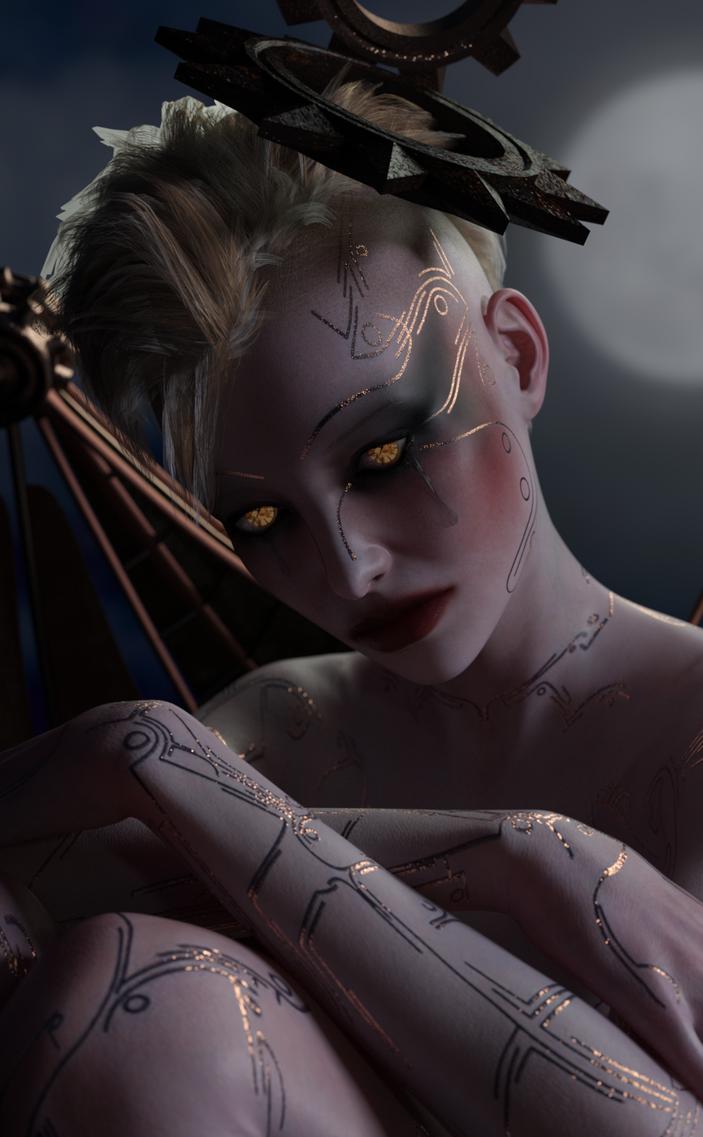 Angel of Death ...Like Clockwork by MadamGoth