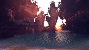 Sunset Paradise by MadamGoth