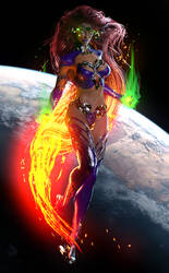 Starfire by MadamGoth