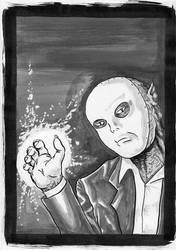 Uzgo the Masked by krateworx