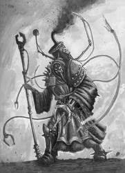Priest of Mars by krateworx