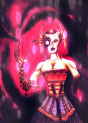Portrait Cybernetica by krateworx