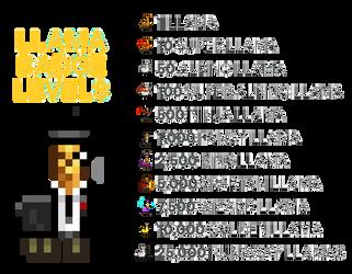 Llama levels -SLS Update- by Mammouth55