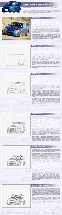 Chibi Car - Sketch Tutorial