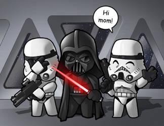 Bob the Stormtrooper by CGVickers