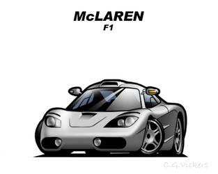 Chibi McLaren F1 by CGVickers