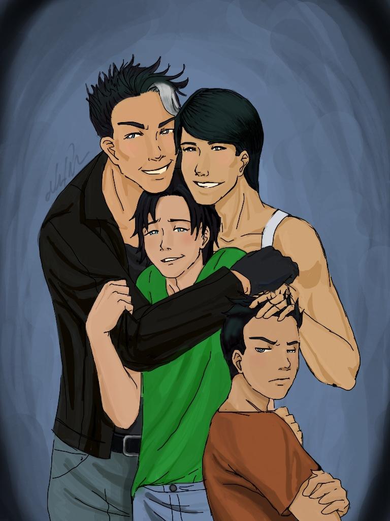 Family Portrait by LetsRockInc