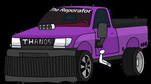 THANOS CAR by xxHeavyswagxx